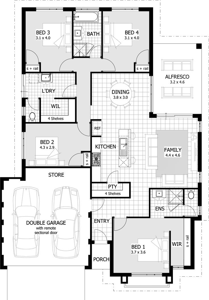 23 best Plan Single images on Pinterest Architecture, Floor - homes designs