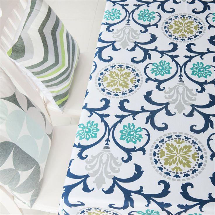 "Kingmerlina Cotton Linen Polyester Rectangle Fresh Pastoralism Kitchen Tablecloth Picnic Cloth (Mul,39""x55"")"