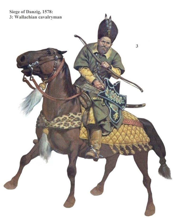 Wallachian cavalryman, 1578