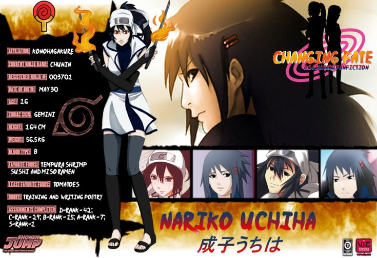 Naruto Shippuden Characters Bio Nariko Uchiha Bio by d...