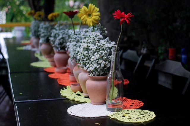 Um casamento decorado só com R$500 - DIY