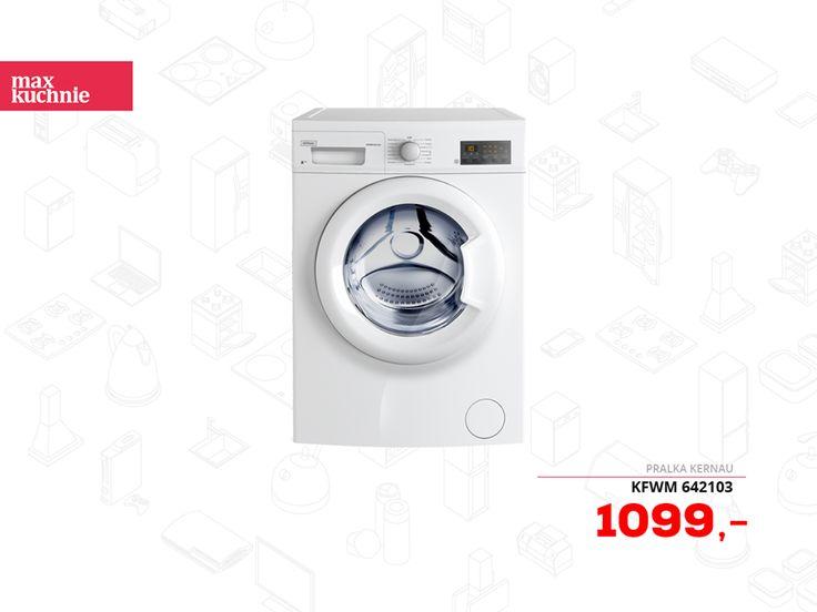 Daj się zaskoczyć nieskazitelnej czystości prania dzięki pralkom Kernau.  Teraz model KFWM 642103 w nowej niższej cenie, a do tego z 5-letnią gwarancją. Sprawdź szczegóły! :)  📌 http://bit.ly/MK_KFWM_642103