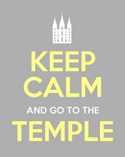 Temple Keep Calm