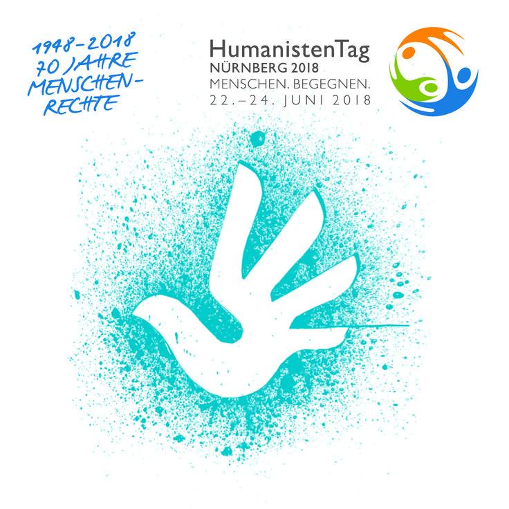 70 Jahre Menschenrechte - Feiert mit uns auf dem HumanistenTag 2018 in Nürnberg!