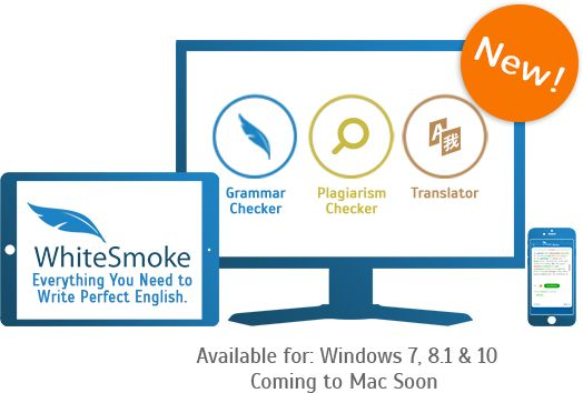 WhiteSmoke software products for writing and language. WhiteSmoke is a grammar checker, spell checker, style checker and more - in a single package. Also featuring translation software and English video courses.