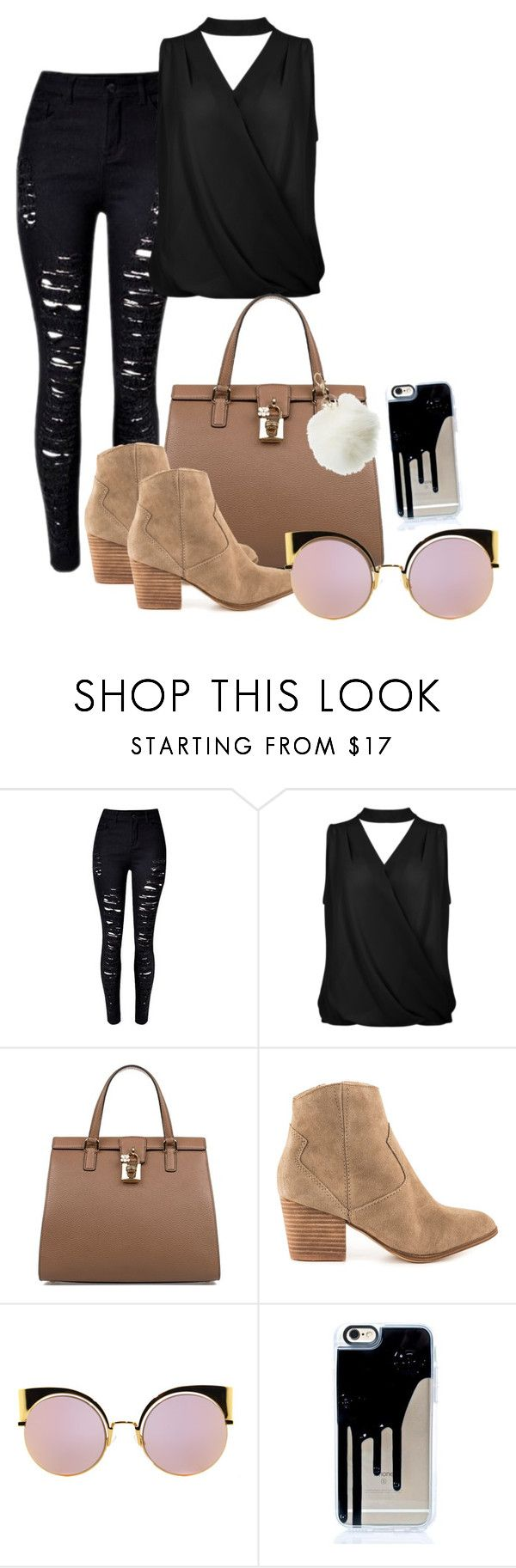 """City"" by grraciie-386 on Polyvore featuring Dolce&Gabbana, ALDO, Fendi and Charlotte Russe"