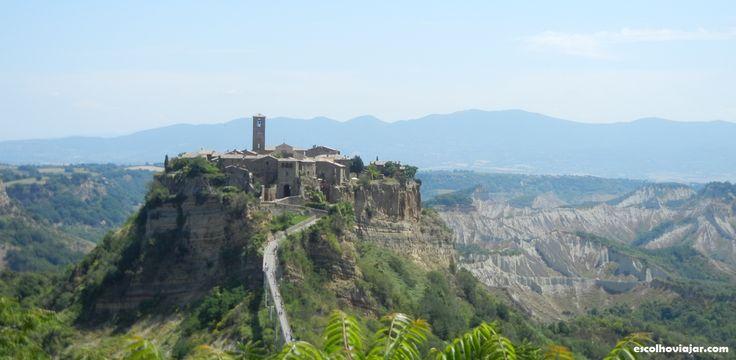 Civita di bagnoregio - cidade fantasma na Itália