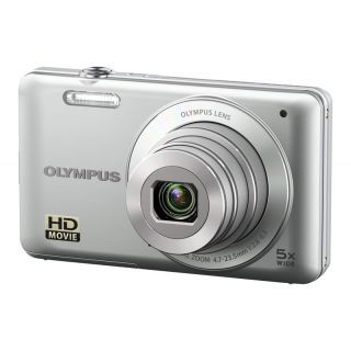 OLYMPUS VG-120 14MP 5XOptik 3 LCD Ekran HD Dijital Kompakt Gümüş :: Al Bak Avm