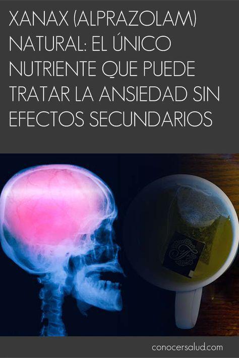 Xanax (Alprazolam) natural: el único nutriente que puede tratar la ansiedad sin efectos secundarios #salud