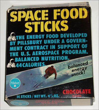 astronaut stick breakfast food 1970 - photo #5