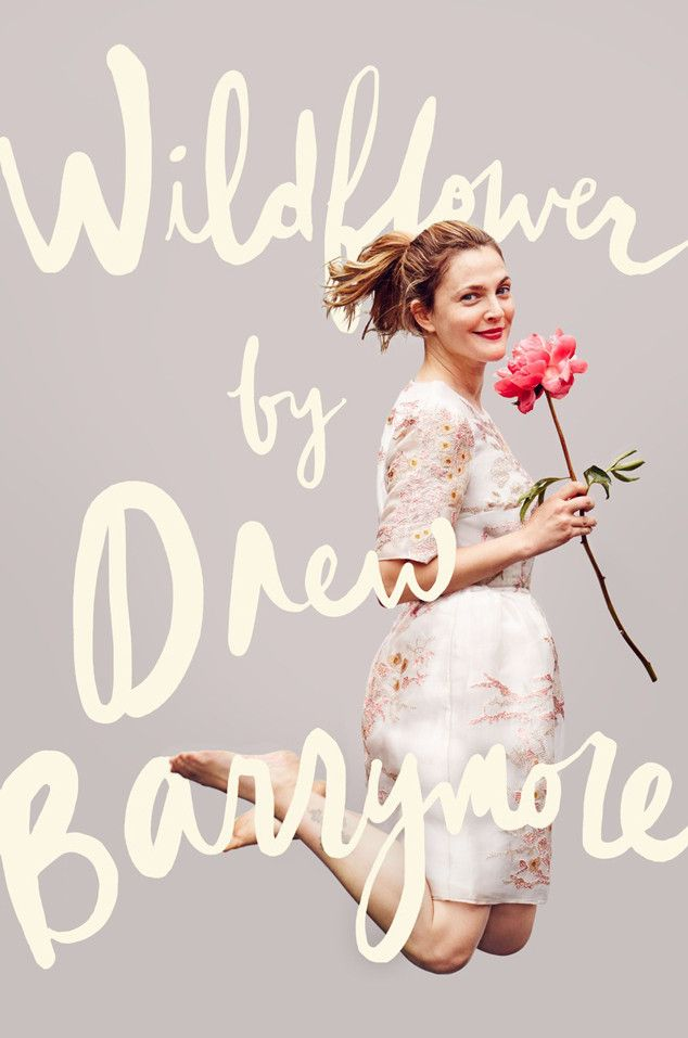 Drew Barrymore Is Just Absolutely Lovely on the Cover of Her New Book, Wildflower | E! Online Mobile
