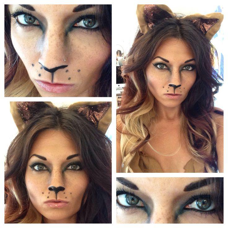 Lioness makeup