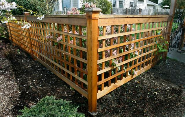 17 best images about cedar fence design on pinterest for Make your own fence