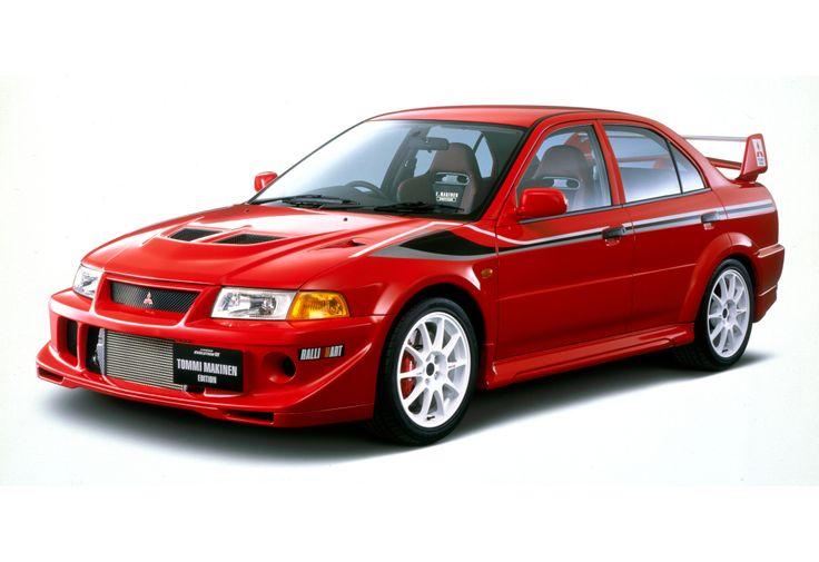 "Mitsubishi Lancer GSR Evolution VI ""Tommi Mäkinen"" Edition (CP9A) '01–09.2000"