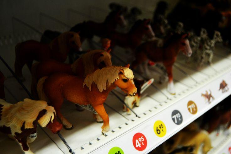 Laukalla ostoksille... #horse