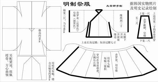 hanfu - pattern