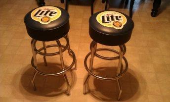 Miller Lite Bar Stools SOLD Inventory Pinterest