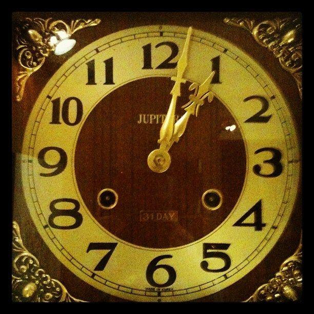 Horloge grand-père de papy Papy's grandfather clock