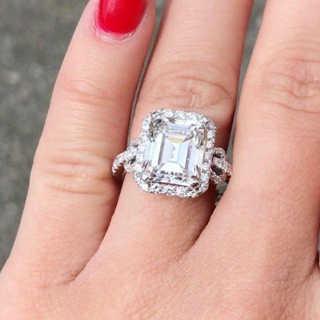 238 Best Engagement Rings Images On Pinterest Rings