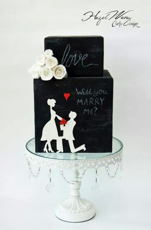 Cake Decorators, Be Inspired by 7 Beautiful Silhouette Cakes