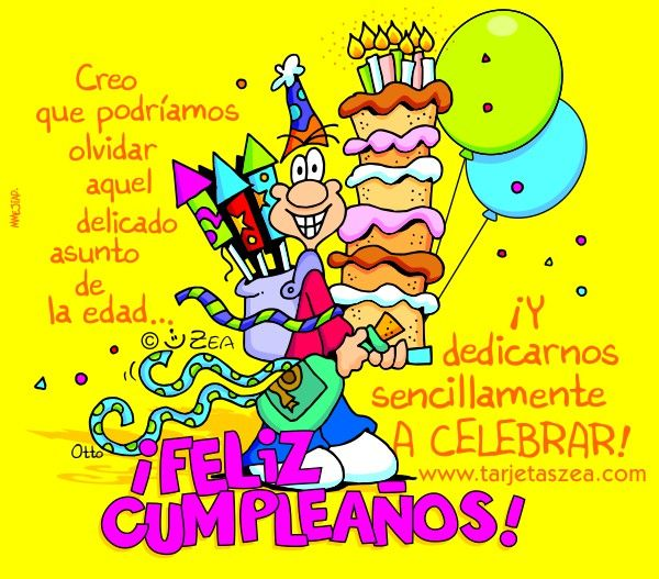 1000 images about feliz cumple on pinterest te amo tes and flora - Tarjetas originales para cumpleanos ...
