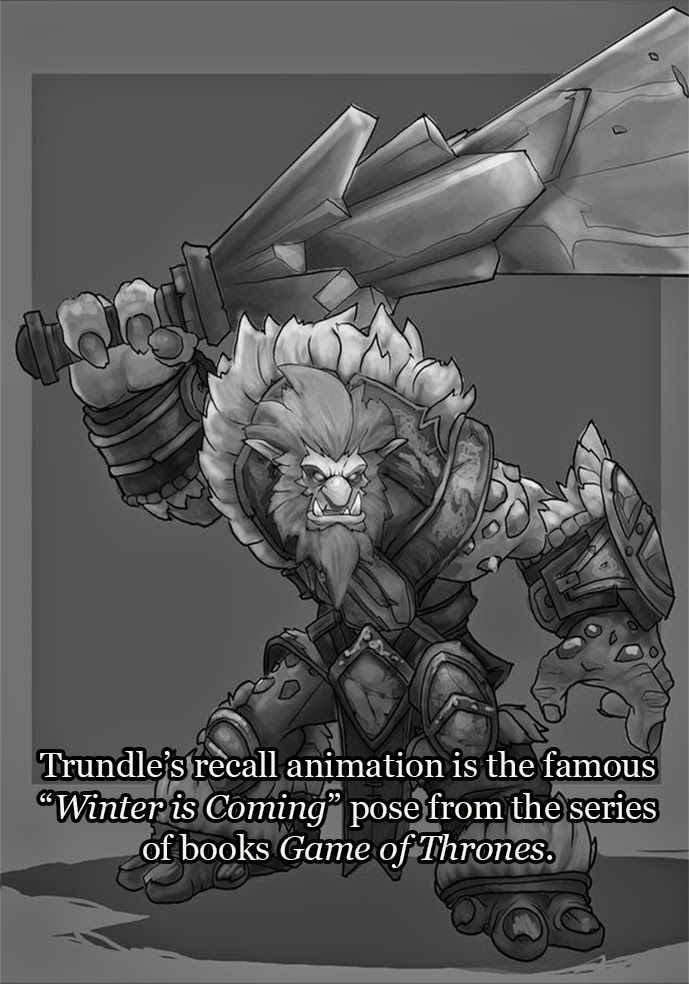 LoL Fun Fact 8 - Trundle allthatleague.blogspot.ca