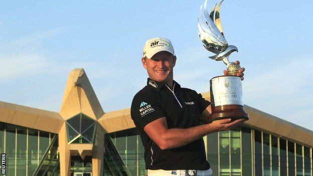 #golf Jamie Donaldson beats Justin Rose to win Abu Dhabi title