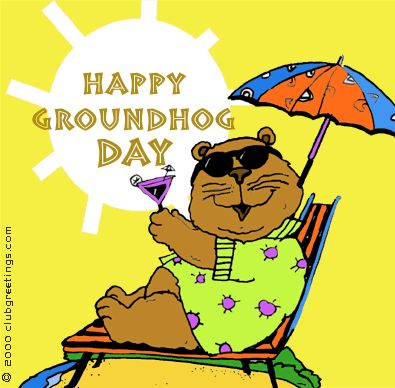Happy Groundhog Day and Happy Birthday to my twin sister...a beautiful shadow she casts :) Jude