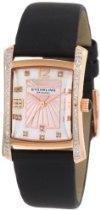 Stuhrling Original Women's 145D.12457 Classic Gatsby Daisy Swiss Quartz Diamond Mother Of Pearl Date Watch