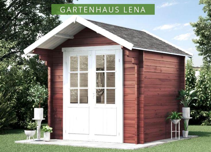 Gartenhaus Lena 44 Iso Gartenhaus Lena 44 Iso Gartenhaus Gartenhaus Mit Terrasse Flachdach Gartenhaus