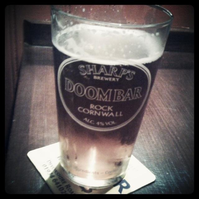 Doom Bar by Sharps Brewery