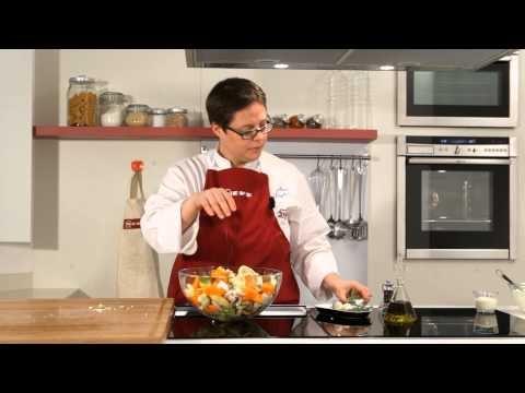Teglia di verdura invernale al forno con salsa al dragoncello #ricette #Neff #cookingpassion