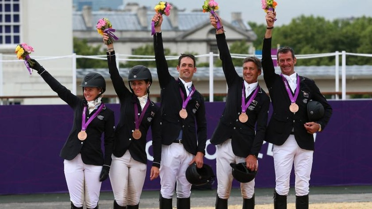 Bronze for equestrian team | olympic.org.nz