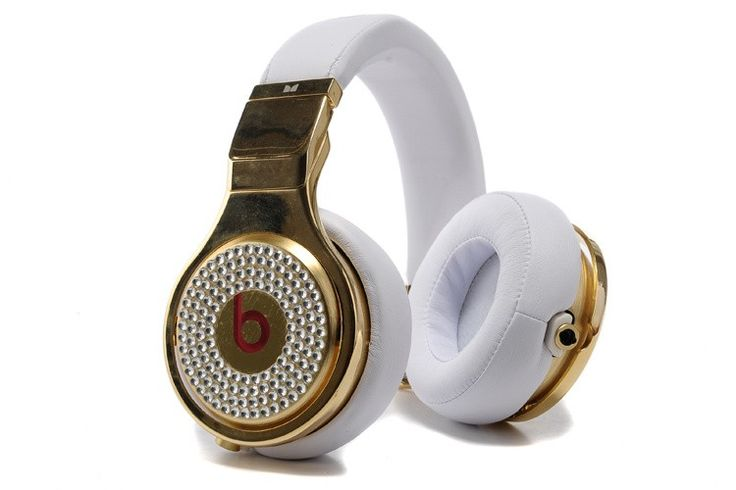 Monster Beats Pro 24K Gold Diamond Headphones White High Resolution Sound Folding Design Full Power Tangle Free Cable Noise Isolation Scratch-Resistant Gloss Finish Monster beats has a good reputation for its unique design, durability and comfort. our Third-party blog web:http://beatspill.webs.com happy shopping