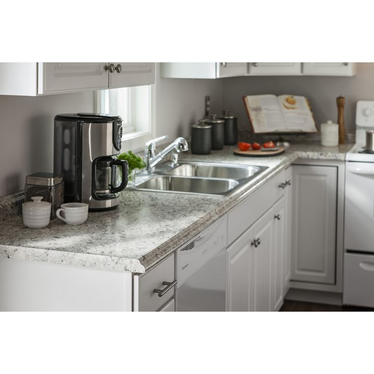 Kitchen Laminate Countertops: Shop BELANGER Fine Laminate Countertops Formica 10-ft Ouro