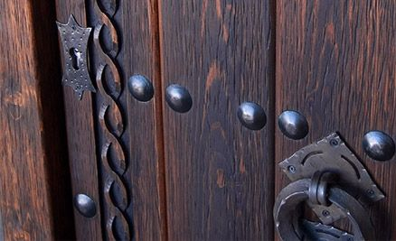 1000 ideas about puertas de madera rusticas on pinterest for Puertas de madera rusticas para interiores