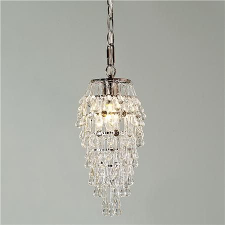 "Definite contender for an over the sink pendant. I think it could be the ""bling"" that the kitchen needs!"