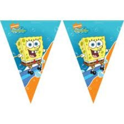 Spongya Bob zászló, 11 zászlóval | Party Point - Dekoráció - lufi, dekoráció, parti termék, esküvő, jelmezek, parókák...