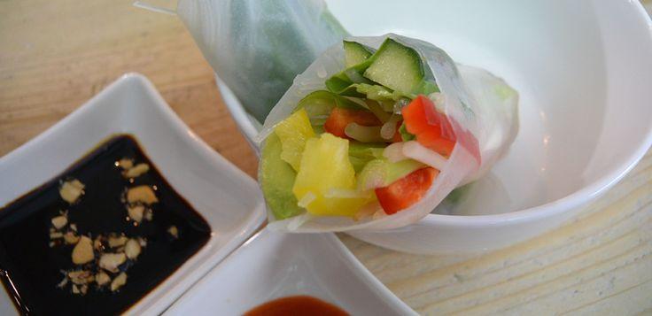 Vietnamese rauwe loempia