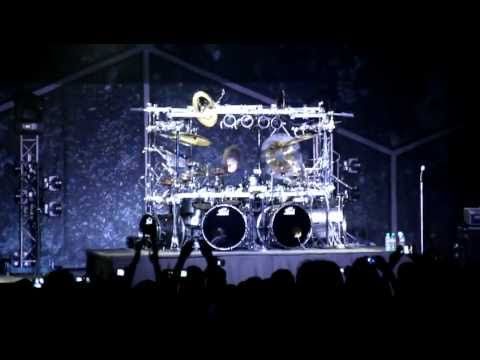 Dream Theater 2011 Moscow , Mike Mangini's drum solo