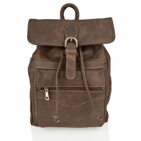 Vintage Mens Leather Back Pack | Street Style Deals