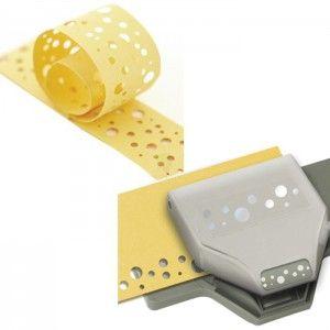 Бордюр Швейцарский сыр Фигурный дырокол для скрапбукинга, кардмейкинга Martha Stewart Марта Стюарт