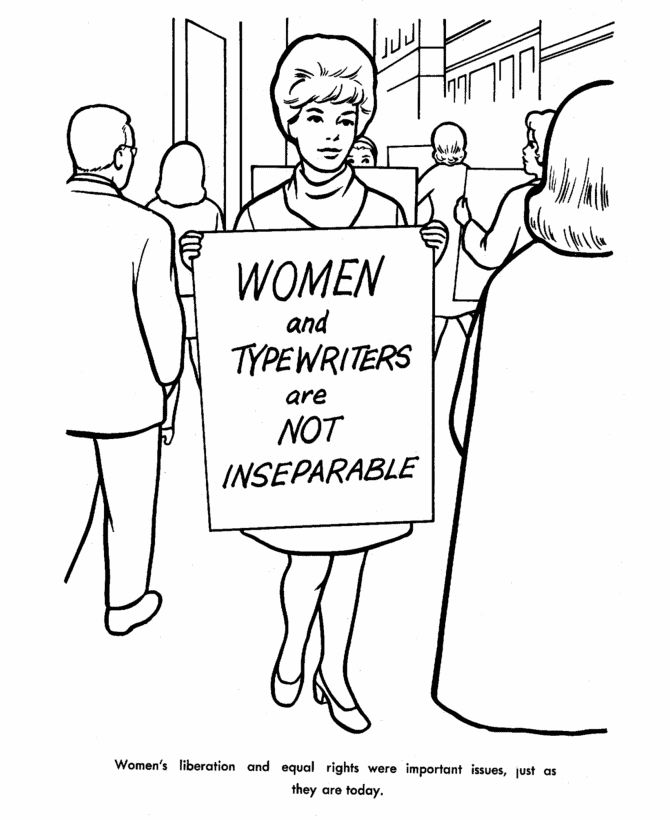 Coloring Pages Children S Rights : Best images about feminist coloring pages on pinterest