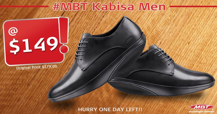 MBT Men Kabisa Shoes at $149 only. Offer valid till 31st may. #BestSelleroftheMonth