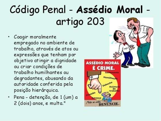 ASSÉDIO MORAL NO DIREITO DO TRABALHO http://colunagianizalenskin.blogspot.com/2016/11/assedio-moral-no-direito-do-trabalho.html