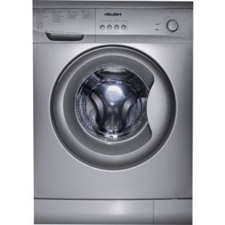 Bush A127Q washing machine silver