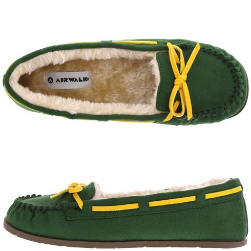 Airwalk Women's Flurry Sport Color Moc (GREENBAY COLOURS!)