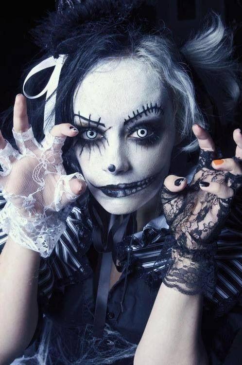295 best Horror make-up images on Pinterest | Halloween ideas ...