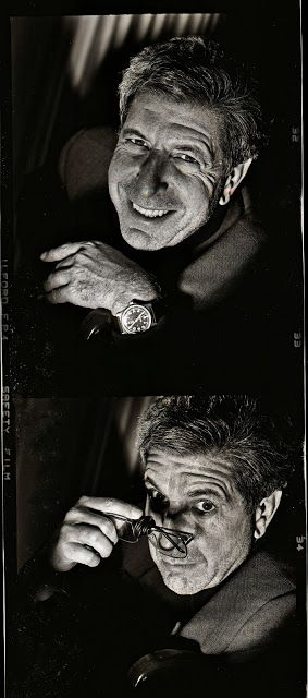 Leonard Cohen by Alex Waterhouse-Hayward