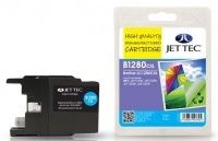 JetTec Brother LC-1280CXL Cyan Remanufactured Ink The Brother LC-1280CXL Cyan remanufactured Ink Cartridge by JetTec - B1280CXL is a JetTec branded remanufactured printer ink cartridge for Brother printers. They provide OEM style quality printing but http://www.MightGet.com/february-2017-3/jettec-brother-lc-1280cxl-cyan-remanufactured-ink.asp